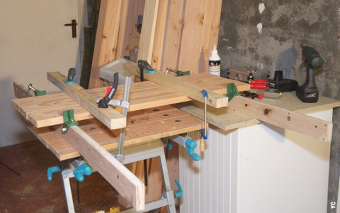 assemblage planches