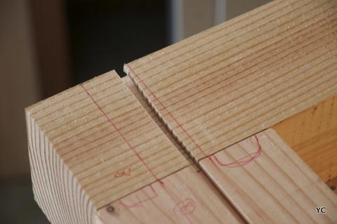 Diy r alisation de mon tabli pas pas partie 1 3 - Comment fabriquer un etabli en bois ...