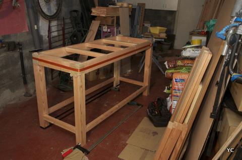 diy r alisation de mon tabli pas pas partie 1 3. Black Bedroom Furniture Sets. Home Design Ideas