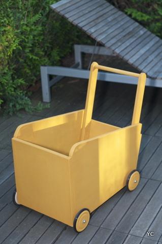 comment fabriquer un chariot en bois ?