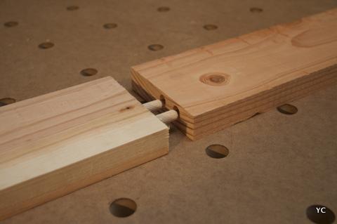 Le on n 3 comment assembler 2 panneaux entre eux for Fabriquer meuble mdf