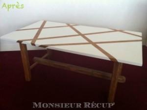 rénover une table