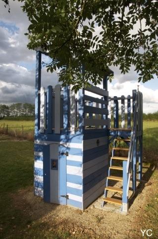 Diy la construction d 39 une cabane - Que faire avec des palettes de bois ...