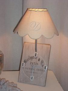 réalisation lampe de chevet