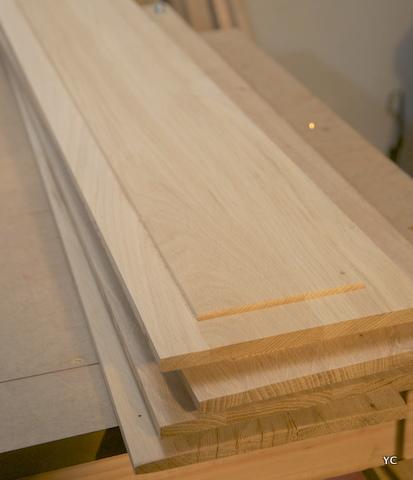 plate-bandes panneaux bois
