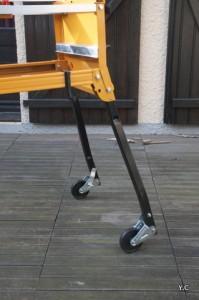 roues rétractables workcentre