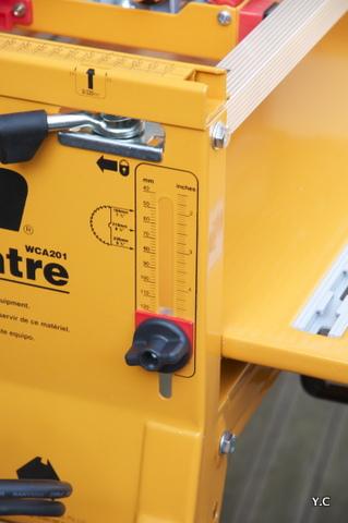 réglage hauteur de coupe triton workcentre