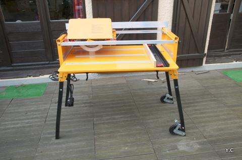 fabriquer chariot de sciage