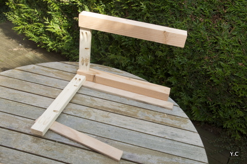 Comment r aliser une table partie 1 les tables basses - Construire une table de chevet ...