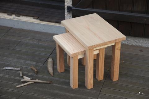 fabriquer des tables gigognes