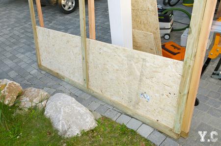 mur ossature bois