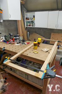 assemblage cadre bois