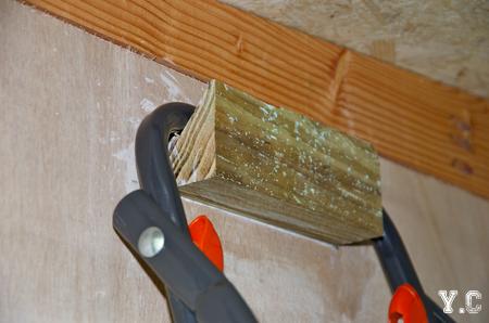 systeme simple en bois pour accrocher des objets