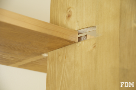 Diy fabrication d 39 une tag re simple - Plan de bibliotheque en bois ...