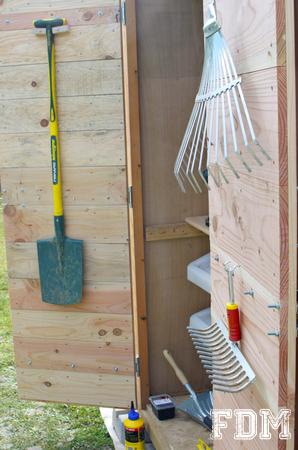 Construction d'une cabane de jardin – 3ème et dernière partie