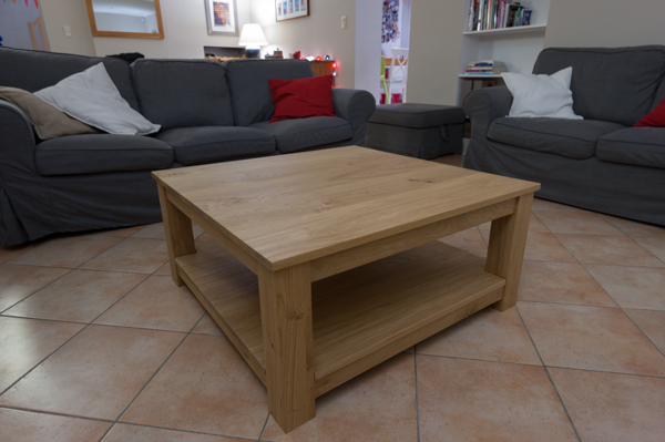 Portrait de bricoleur interview de alexandre du blog - Table basse fait maison ...