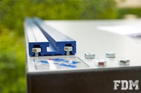 rail en acier pour etabli