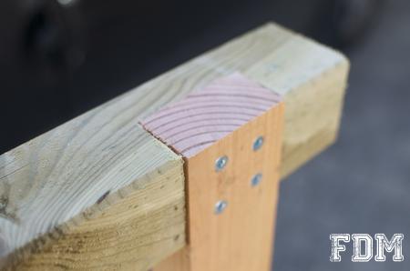 faire soi-même un carré potager en bois
