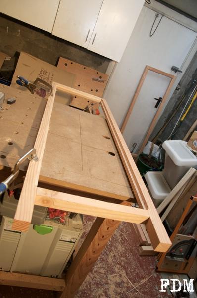 cadre bois massif