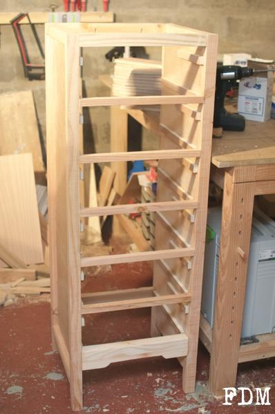 ossature meuble bois