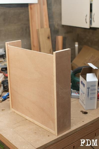 étape assemblage tiroir