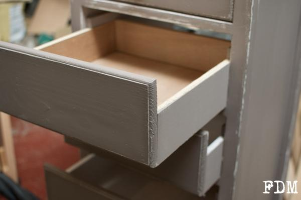 installation tiroir