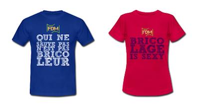 Soutenez les restos du coeur : offrez les t-shirts FDM !