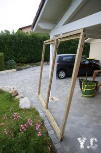DIY – Fabrication d'une cabane de jardin (1ere partie)